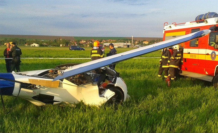 Aeromobil had an air accident, pilot walked away